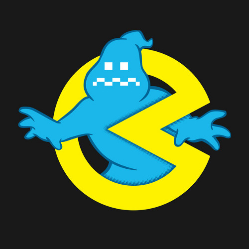Ghostbusters Pac-Man Logo T-Shirt