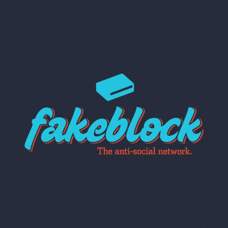 Fakeblock Anti-Social Network T-Shirt
