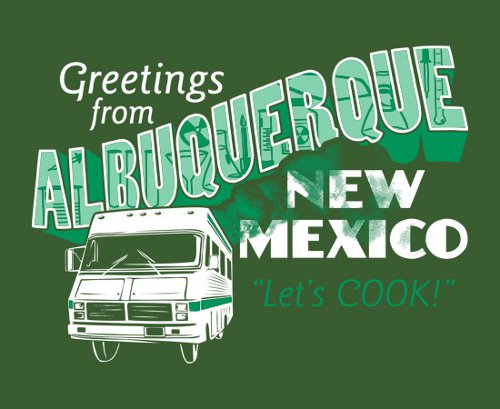 Breaking Bad Greetings From Albuquerque T-Shirt
