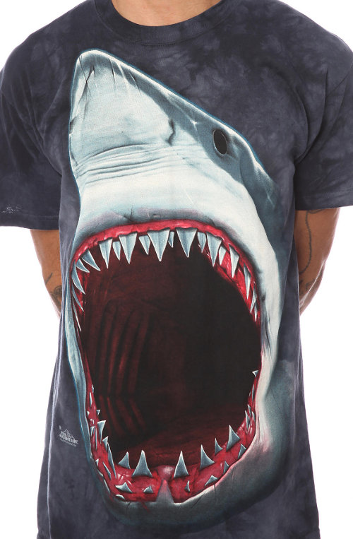 The Mountain Shark Bite T-Shirt