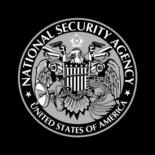 NSA Eagle Camera Logo T-Shirt