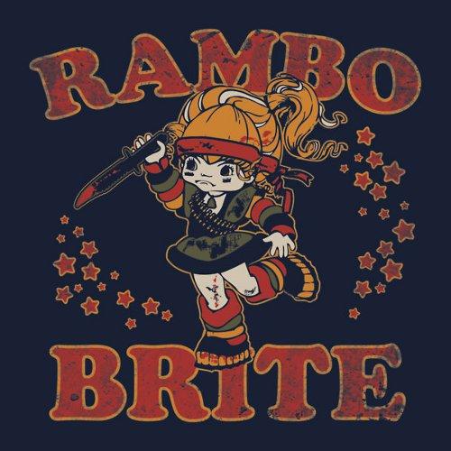Rambo Rainbow Brite T-Shirt