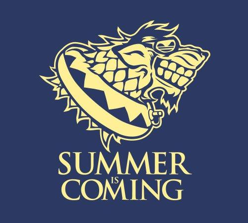 Summer Is Coming Stark T-Shirt