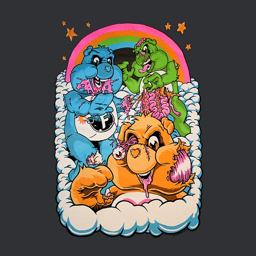 Zombie Care Bears T-Shirt