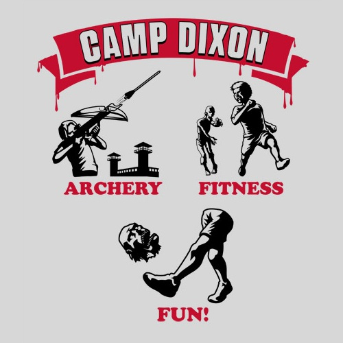 Camp Daryl Dixon Walking Dead T-Shirt