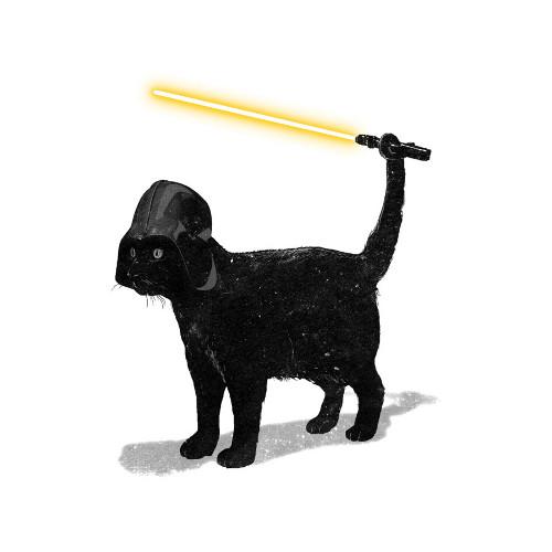 Darth Vader Cat T-Shirt