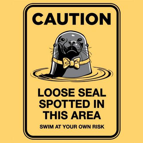 Caution: Loose Seal Arrested Development T-Shirt