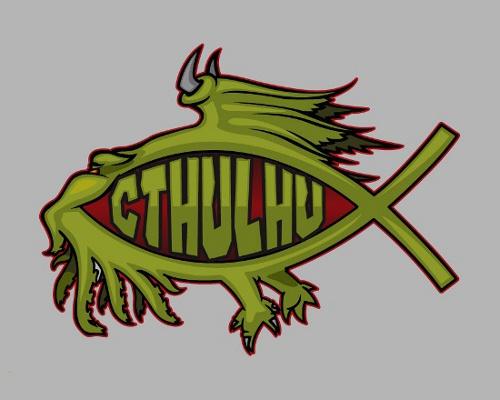 Cthulhu Fish T-Shirt