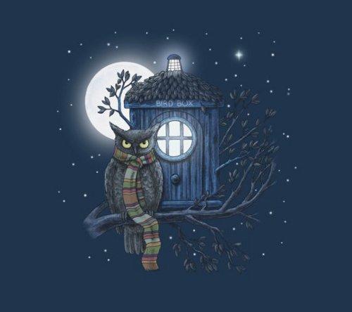 Dr. Hoot Who Owl T-Shirt