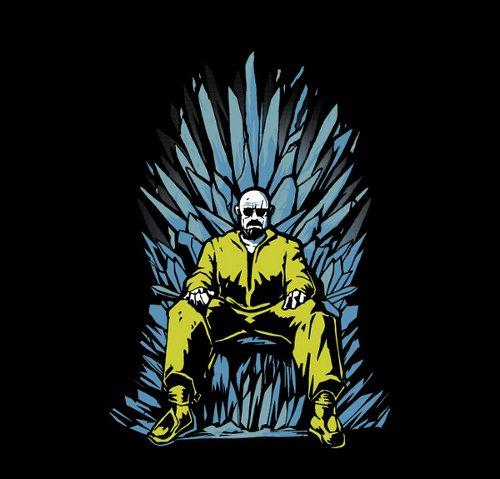 Game of Chemistry Thrones Breaking Bad T-Shirt