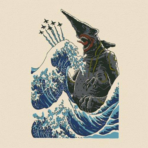Kaiju Wave Pacific Rim T-Shirt