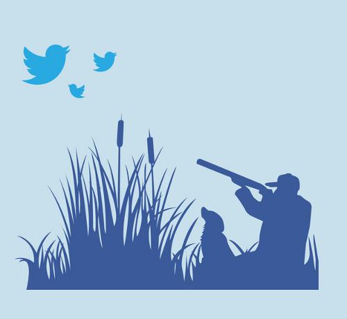 Twitter Bird Hunt T-Shirt