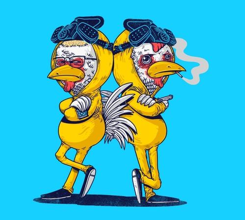 Pollos Hermanos Breaking Bad Chickens T-Shirt