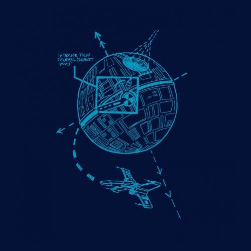 Death Star Plans Schematics T-Shirt