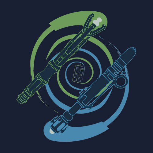 Sonic Vortex Doctor Who T-Shirt