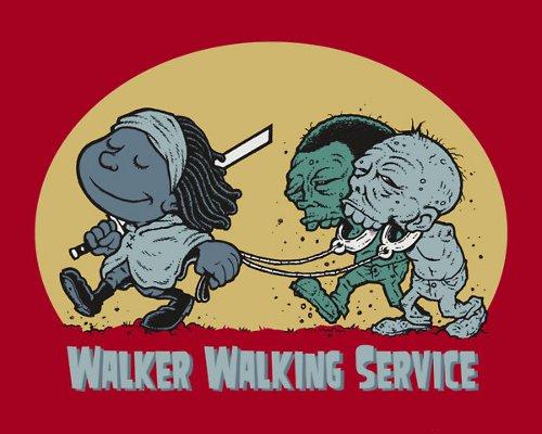 Michonne Walker Walking Service Walking Dead T-Shirt