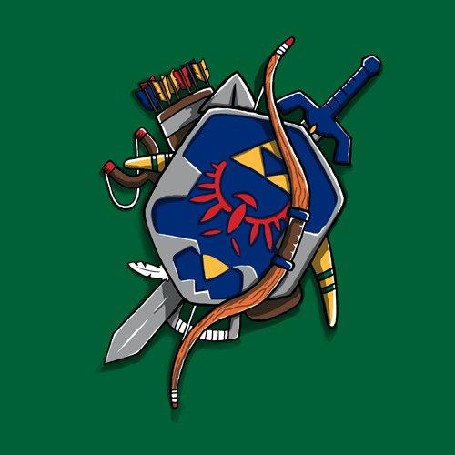 Link's Weapons Legend of Zelda T-Shirt