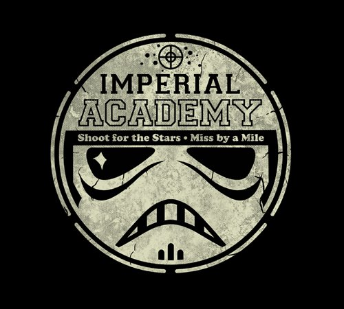 Imperial Stormtrooper Academy Star Wars T-Shirt