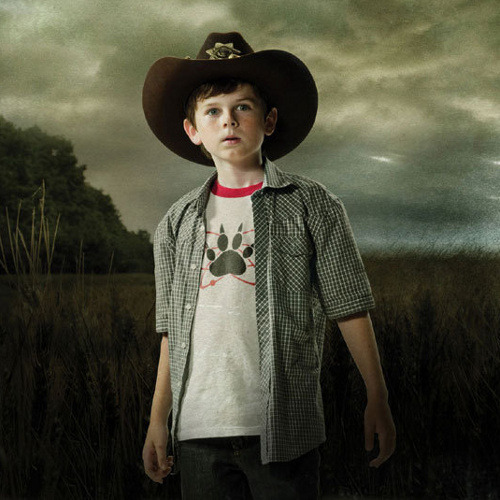 Atomic Paw Carl Grimes Walking Dead T-Shirt