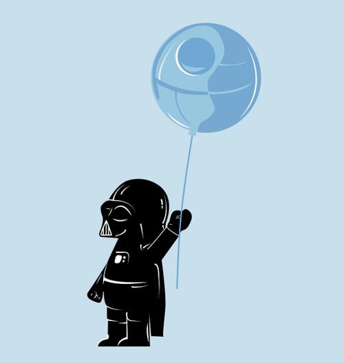Baby Darth Vader Star Wars T-Shirt