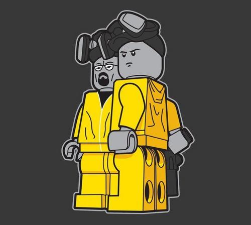 Bricking Bad Breaking Bad Lego T-Shirt