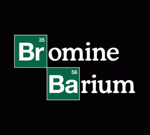 Bromine Barium Breaking Bad Logo Elements T-Shirt