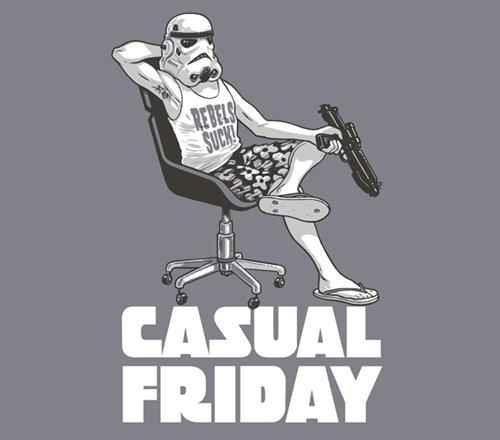 Casual Friday Stormtrooper Star Wars T-Shirt