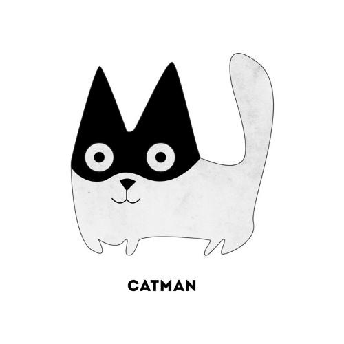 Catman Batman Cat T-Shirt
