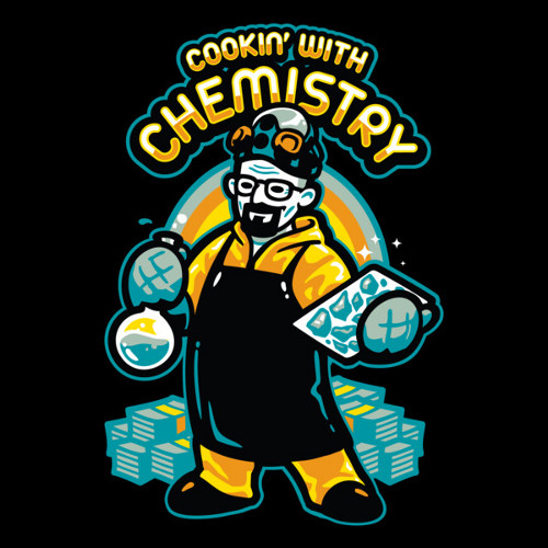 Cooking With Chemistry Breaking Bad T-Shirt