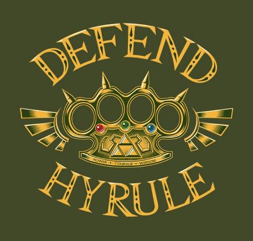 Defend Hyrule Legend of Zelda T-Shirt