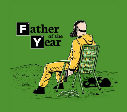 Father of the Year Breaking Bad T-Shirt