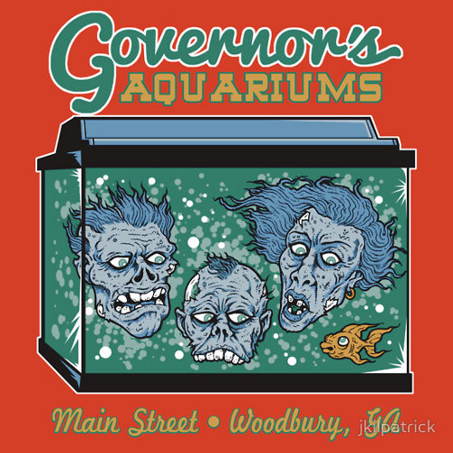Governor's Aquariums Walking Dead T-Shirt