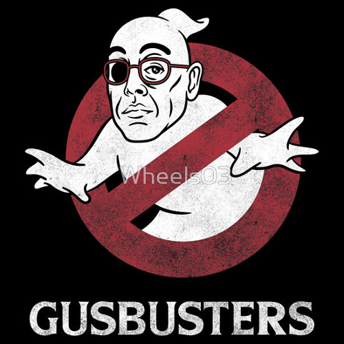Gus Fring Breaking Bad Ghostbusters T-Shirt