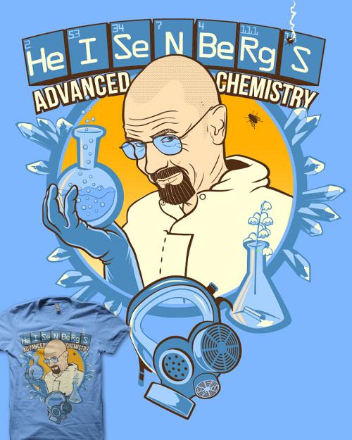 Heisenberg's Advanced Chemistry Breaking Bad T-Shirt
