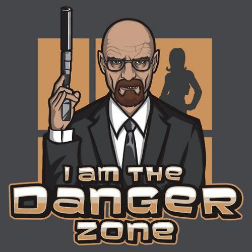 Danger Zone Breaking Bad Archer T-Shirt