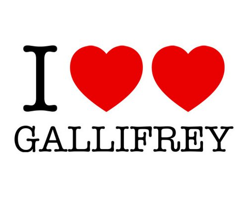 I Heart Heart Gallifrey Doctor Who T-Shirt