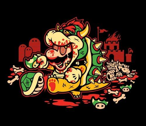 Super Mario Mushroom LSD Trip T-Shirt