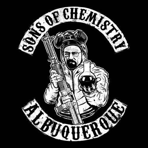 Sons of Chemistry Breaking Bad Anarchy T-Shirt