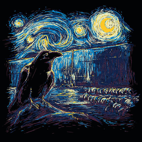 Starry Night's Watch Game of Thrones T-Shirt