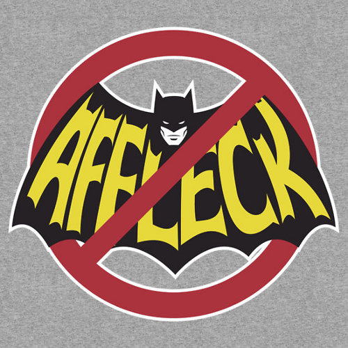 No Batfleck Ben Affleck Batman T-Shirt