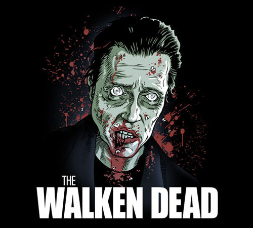 Christopher Walken Walking Dead T-Shirt