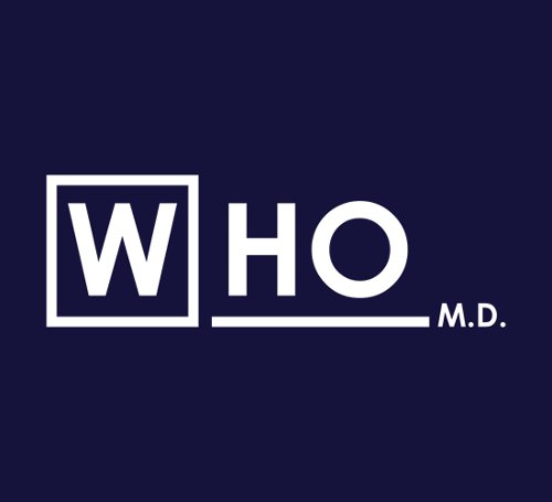 Doctor Who MD House T-Shirt