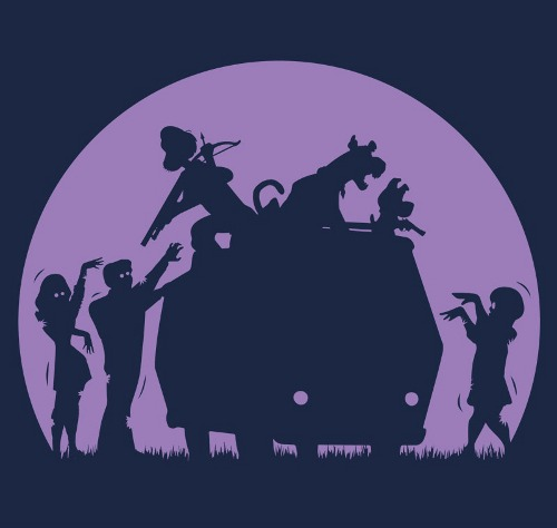 Scooby Doo Zombies Mystery Machine T-Shirt