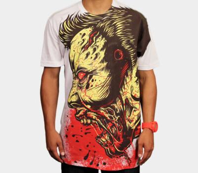 Zombie Frenzy T-Shirt Full