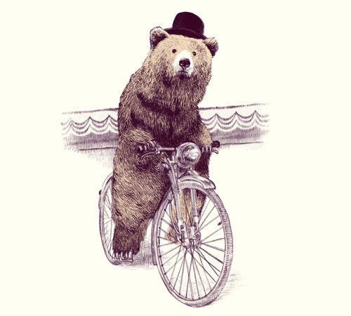 Barnabus Cycling Bear Hat T-Shirt