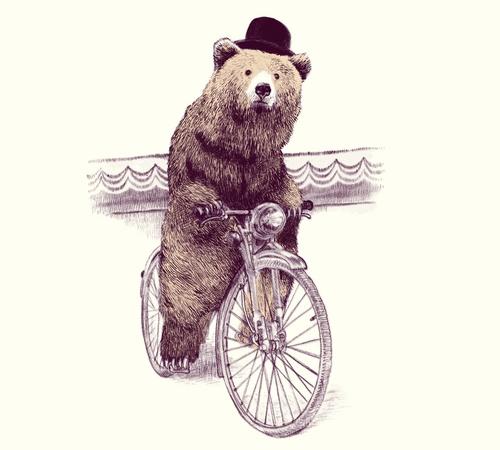 Barnabus Cycling Bear Hat T-Shirt