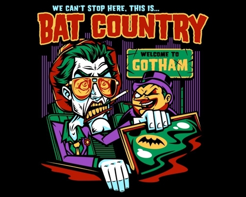 Batman Fear and Loathing T-Shirt