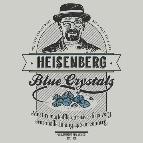 Heisenberg Blue Crystal Cure Breaking Bad T-Shirt