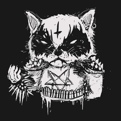 Death Metal Cat T-Shirt
