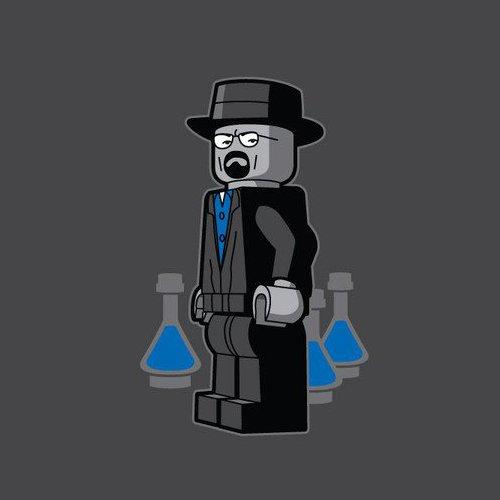 Heisenberg Lego Breaking Bad T-Shirt